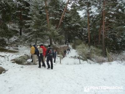 Ruta arroyo de la Chorranca; caminatas madrid;ruta nacimiento del rio cuervo